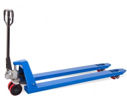 Гидравлическая тележка складская усиленная TOR RHP 2500, 1500x550 мм