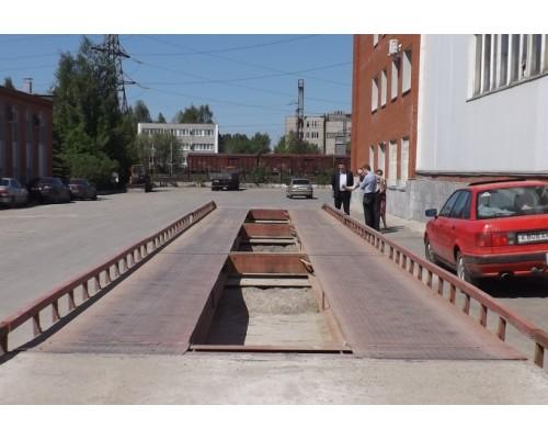 Весы автомобильные колейные МВСК-УВ 30-КН.2 (5х3)