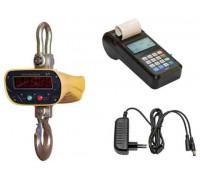 Весы крановые КВ-5000-П с печатью чеков
