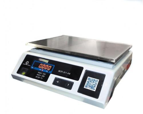 Фасовочные весы электронные ВСП-15.2-4К