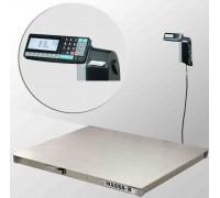 Платформенные весы с печатью этикеток 4D-PM.S-12/10-RP