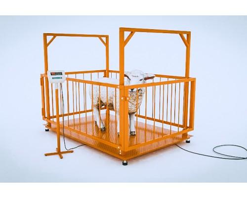 Весы для животных МВСК C-Н-0,5 (1000х1500)