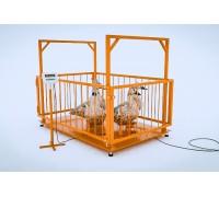 Весы для животных МВСК С-Н-1 (1000х1500)