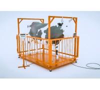 Весы для животных МВСК C-Н-0,3 (750х1000)