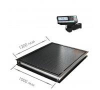 Врезные весы 4D-PMF-12/10-RP  с печатью этикеток