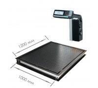 Врезные весы 4D-PMF-12/10-RL с печатью этикеток