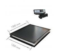 Врезные весы 4D-PMF-15/12-RP с печатью этикеток