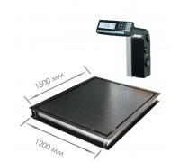 Врезные весы 4D-PMF-15/12-RL с печатью этикеток
