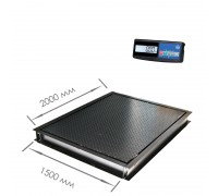 Врезные весы 4D-PMF-20/15-3000A