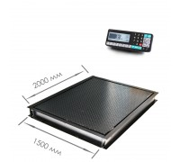 Врезные весы 4D-PMF-20/15-3000RA