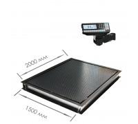 Врезные весы 4D-PMF-20/15-RP с печатью этикеток