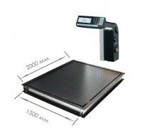 Врезные весы 4D-PMF-20/15-3000RL с печатью этикеток
